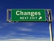 Changes... Next Exit!